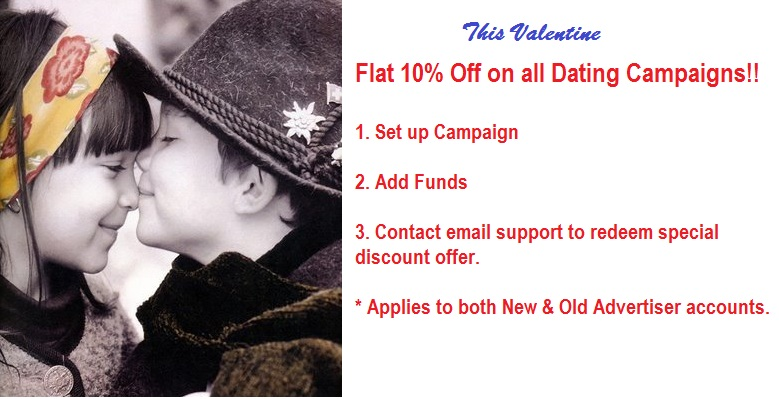 Dating Campaign discount offer